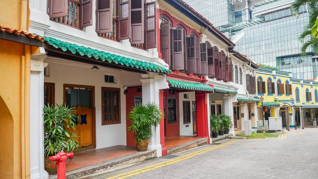 Heritage Shophouses In Singapore Offer Space And Value