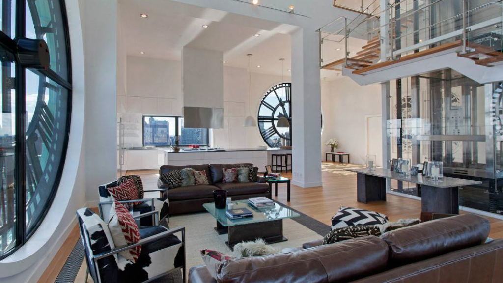 The 2011 Esquire Ultimate Bachelor Pad in Clock Tower, Brooklyn, New York