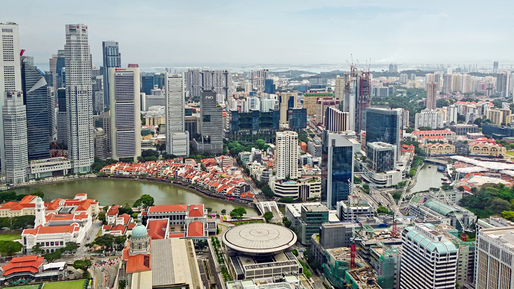 Singapore In Property Investors' Sights