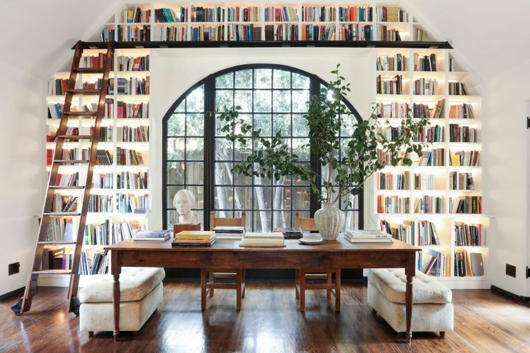 The Cover is Not the Book | Homes with Handsome Libraries
